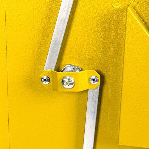 Paketbriefkasten Smart Parcel Box, gelb - 8