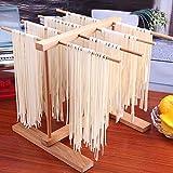 Stendipasta pieghevole | Stendipasta in legno | Stendipasta per asciugare la pasta per cucina, casa, stendipasta, stendipasta, per cucina