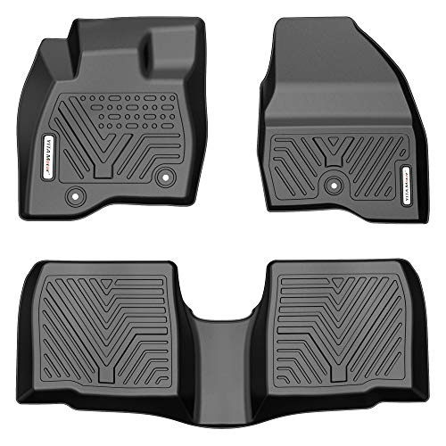 YITAMOTOR Floor Mats Compatible with 2017-2019 Ford Explorer, Custom Fit Floor...