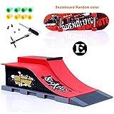 Sipobuy DIY Assembly Mini Finger Skateboard Deck Truck Skate Park...