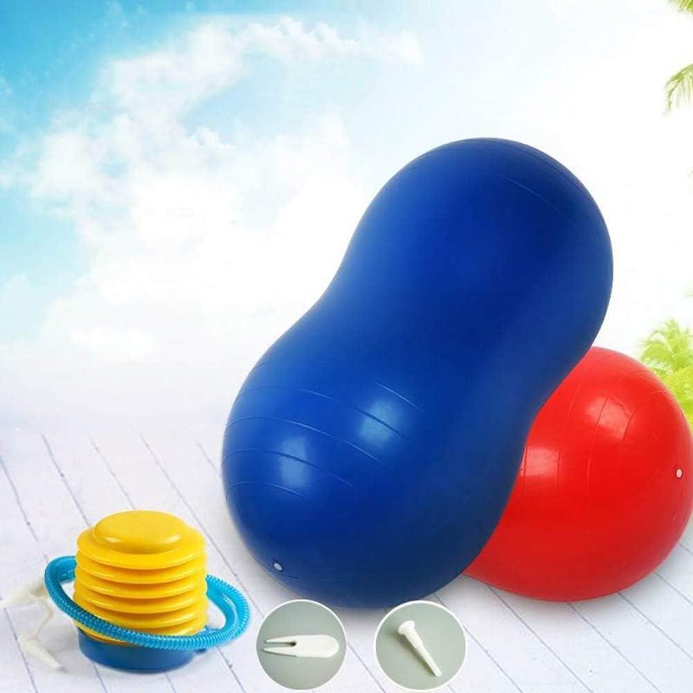 KRUIHAN Arachide Yoga en Forme de Boule Exercice Accueil Sport Gym Perte de Poids /Équilibre Formation Physioth/érapie /Équipement