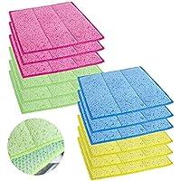 12 Pack Celox 9.8 Inch x 9.8 Inch Multi-Purpose Kitchen Sponge Cloth