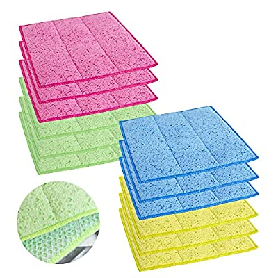 Amazon - 55% Off on 12 Pack Multi-Purpose Kitchen Sponge Cloth, Large Size