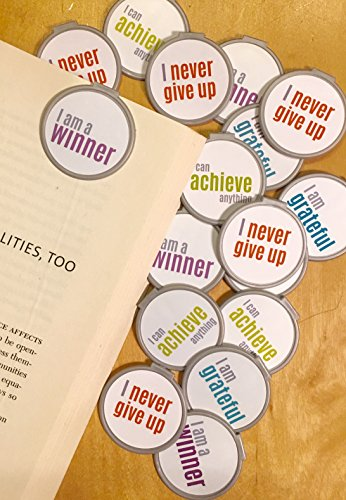 Motivation #2 Bookmarks - 36 Bulk Bookmarks for Kids Girl's Boys- School Student Incentives – Library incentives – Reading Incentives - Party Favor Prizes - Classroom Reading Awards!