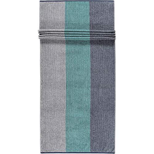 Cawö Home Toallas de mano Polo 364 azul marino – 14 toallas de sauna 70 x 180 cm