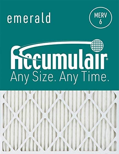 Accumulair Emerald 20x25x0.5 19.5x24.5x0.5 Sales Cheap bargain of SALE items from new works MERV Air 6 Filter F