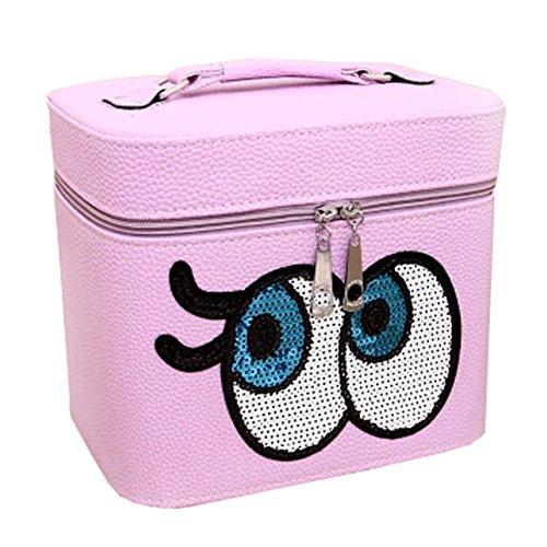 Big Eyes Cosmetic Bag Voyage Trousse de toilette maquillage cosmétiques boîte