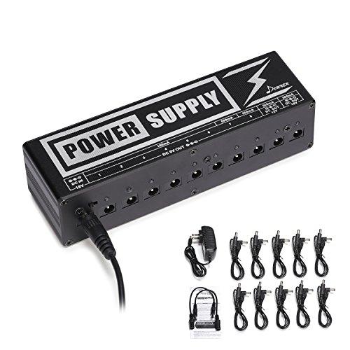 Donner Guitar パワーサプライ 独立動作 電源供給 PSE認証