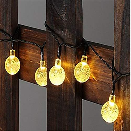 Color Yun Solar light LED Multi Shape Solar Energy Lamp String Light Outdoor Christmas Wedding Garden Party Decorative Fairy Light