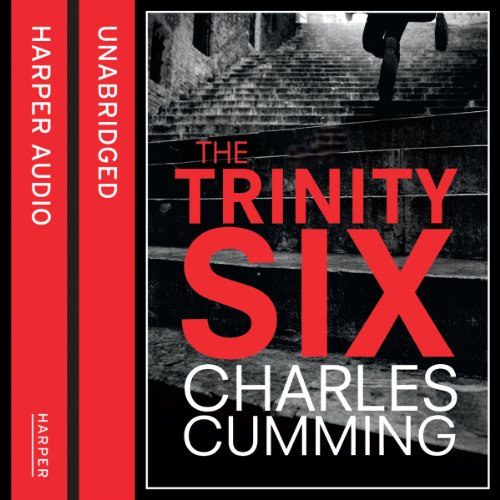 The Trinity Six                   By:                                                                                                                                 Charles Cumming                               Narrated by:                                                                                                                                 Jot Davies                      Length: 11 hrs and 20 mins     202 ratings     Overall 4.4
