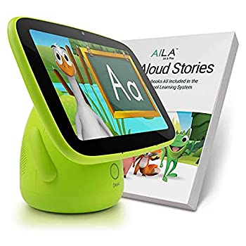 ANIMAL ISLAND AILA Sit & Play Plus Preschool Learning and Reading System Essential for Toddlers 12-36 Months 60 Storybooks Letters Numbers Vocabulary Words Songs Best Baby Gift Mom s Choice Gold