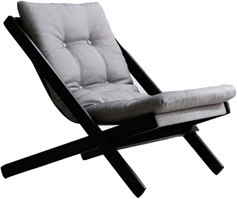 Mini Small Lazy Sofa Leisure Balcony Armchair Foldable