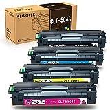 STAROVER CLT-P504C CLT-504S Cartuchos de Tóner Compatibles Samsung, CLT-K504S C504S M504S Y504S, Reemplazo para Samsung Xpress SL-C1810W C1860FW Samsung CLP-415NW 470 475 CLX-4170 4190 4195FN 4195FW