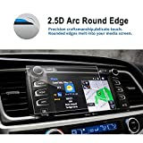 LFOTPP Car Navigation Screen Protector for 2015-2017 2018 2019 Highlander LE Plus XLE 8 Inch, Tempered Glass 9H Hardness Car Infotainment Stereo Display Center Touchscreen Protective Film