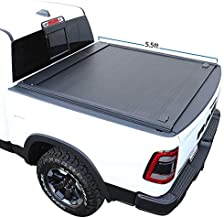 Syneticusa Aluminum Retractable Low Profile Waterproof Tonneau Cover Fit 2007-2021 Toyota Tundra 5.6ft 5'6
