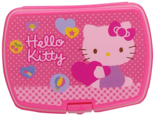 Stor 37374 - Sandwichera rectangular, diseño Hello Kitty