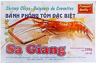 4 boxes200gr shrimp chips - Beignets Crevettes - Banh phong tom Sa Giang