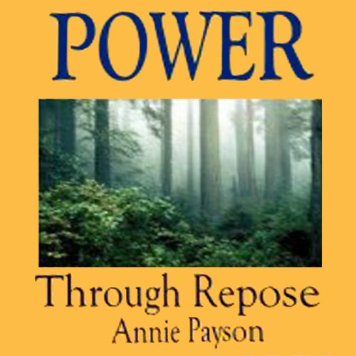 Power Through Repose audiobook cover art