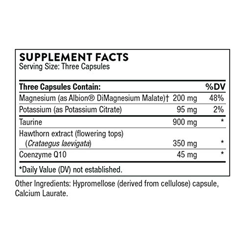 Thorne Research - Q10 Plus - Coenzyme Q10 Supplement with Minerals, Amino Acids, and Botanicals - 90 Capsules