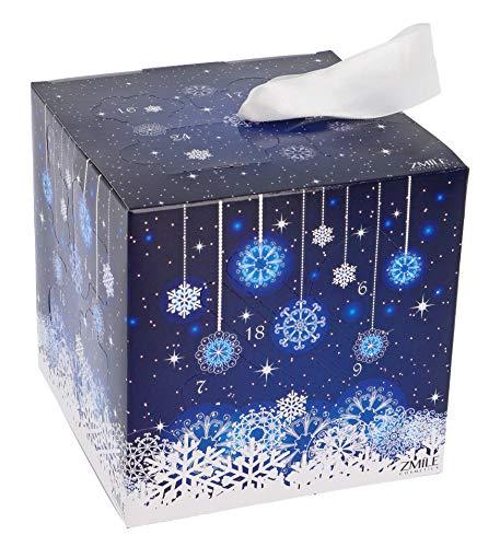 ZMILE Cosmetics Adventskalender 'Cube' snow flake blue