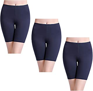c9ff51b5951b wirarpa Women s Anti Chafing Cotton Underwear Boyshorts Bike Long Leg  Multipack