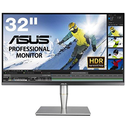 ASUS 32型プロ向け4Kディスプレイ ハードウェアキャリブレーション付属限定モデル(HDR/直下型LED/IPS/ゼロ...