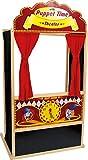"""small foot 6099 Kasperletheater """"Sepp"""" aus Holz, schön verziert, in bunten Farben, ideal für Geburtstage, ab 3 Jahren"""
