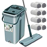 Best Spin Mops - Elvana Mop with Bucket Hands-Free Microfiber Flat Spin Review