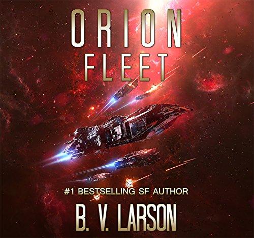 Orion Fleet audiobook cover art
