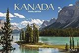 Kanada Travel Edition - Kalender 2021 - Panorama-Format - Korsch-Verlag - Fotokalender - Fotokunst - 57,7 cm x 38,7 cm