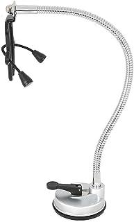 Soporte para secador de pelo: soporte de pared para secador de pelo con rotación libre de 360 °, soporte para soplador de pelo con manos libres, ventosa