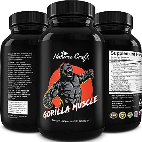 Natures Craft Gorilla Muscle