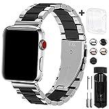 Fullmosa Edelstahl Uhrenarmband Kompatibel für iWatch/Apple Watch Armband Serie 5/4/3/2/1, SUS...