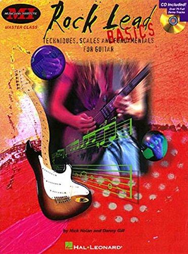 M. I. Rock Lead Basics (Nolan/Gill) MIMC Bk/Cd -Album-: Noten, CD für Gitarre