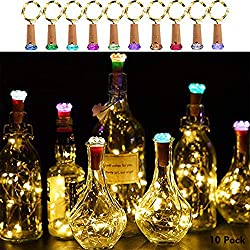 Bottle Lights with Cork - 50% Off!