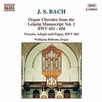 Bach, J.S.: Organ Chorales From the Leipzig Manuscript, Vol. 1