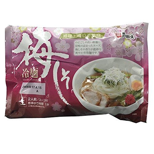 戸田久 梅しそ冷麺2食 366g ×5個