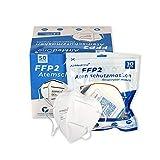 FFP2 Atemschutzmaske EN149 [50 Stück] Staubmaske Atemmaske 5-lagig Staubschutzmaske Mundschutzmaske