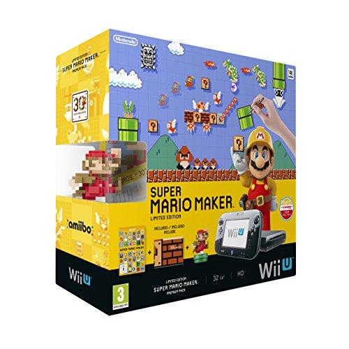 NINTENDO - Nintendo Wii U Hw + Mario Maker+ Amiibo - 2301699