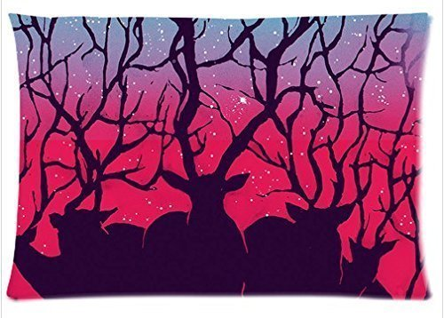 Denise Love Deer Blood Evil,decorative pillow cases 20x30inch (Two sides)