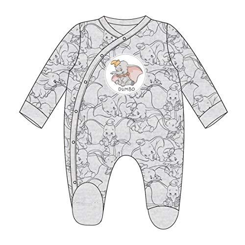 Artesania Cerda Unisex Baby Pelele Velour Disney Dumbo Strampler, Grau (Gris C13), One Size