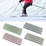 Kit de Ajuste de Bisel de Borde de esquí de Snowboard, Kit de Cuidado de Borde de 4 Piezas Herramienta de ángulo Lateral de esquí Kit de Cuidado de Borde Resistente al Desgaste