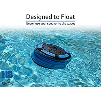 Perfect for Pool Outdoors HB Illumination Dustproof Wireless Shower Radio with Suction Cup Hot Tub Boat Indoors SafeMate Logic SYNCHKG095181 Shower Beach Bluetooth Portable Waterproof Shower Radio Shockproof