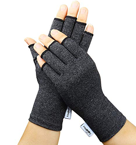 2 Pairs Arthritis Gloves, Compression Gloves for Rheumatoid & Osteoarthritis,Joint Pain Relief,...