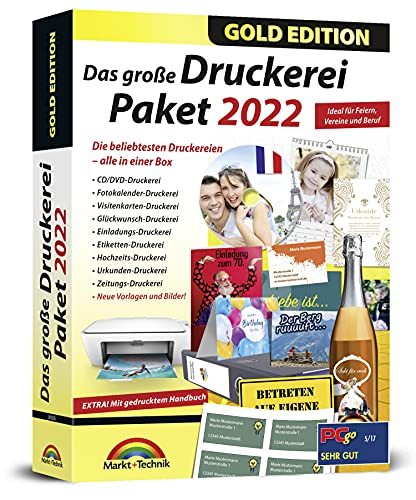 Markt  Technik Das große Druckerei Paket 2022 Bild