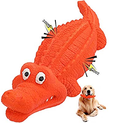 HAOPINSH Dog Toys Chew for Dogs Squeaky Dog Toys Durable Medium Outdoor Strong Rubber Labrador Strong Tough Training Teething Dogs Gift Nearly Indestructible for Medium and Large Breed