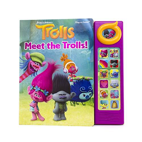 DreamWorks - Trolls 13-Button Sound Book - PI Kids