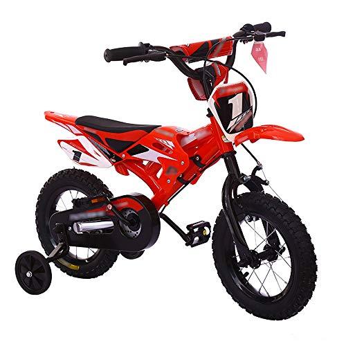 Byx Kinderen Fietsfiets Jongen Meisje Baby Kinderwagen 1 Motorfiets Blauw Motorfiets Mountainbike 3 Jaar Oud - 8 Jaar Oud Kinderfiets