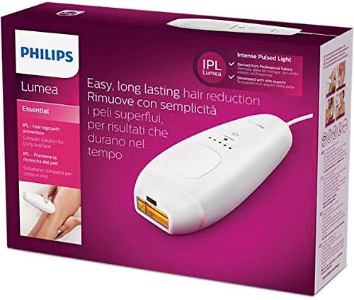Philips Lumea Essential BRI858/00 Haarentfernungsgerät für Gesicht und Körper