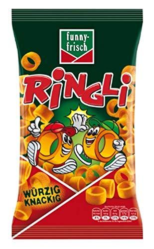 funny-frisch Ringli Paprika, 24er Pack (24 x 75 g)